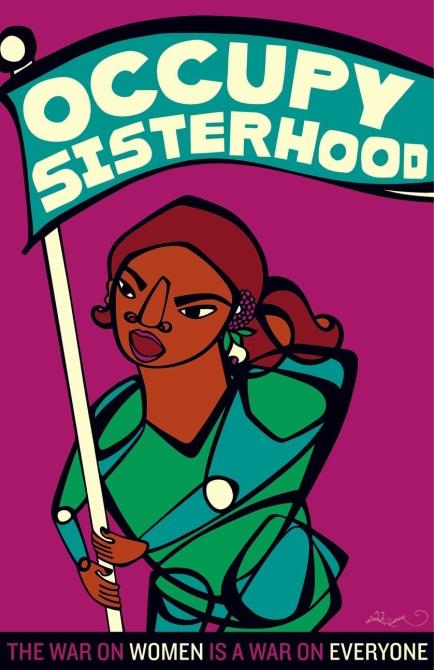 Image Occupy sisterhood, the war on women is a war on everyone