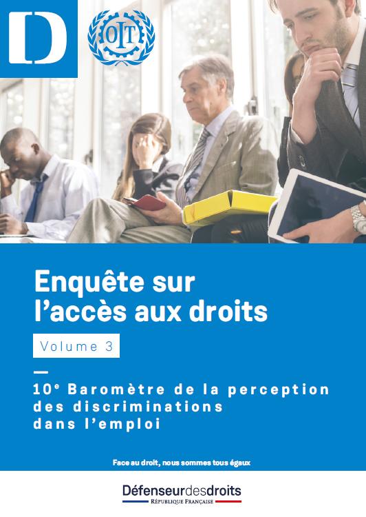 image baromètre de la perception des discrimination dans l'emploi