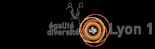 Logo Mission égalité diversité de Lyon 1